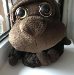 Μαλακό παιχνίδι μαϊμού Μακριά κεφάλια 22 εκ
