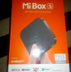 Xiaomi Mi Box S - 4K Android TV -приставка с Andro