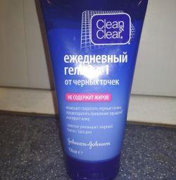Clean & clear daily gel