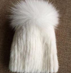 Γούνα καπέλο.