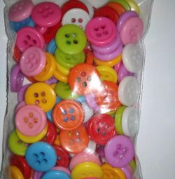Buttons 100 pcs new