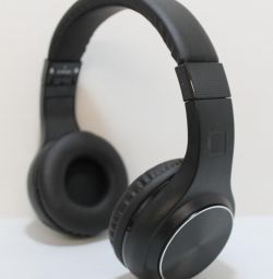 Full-size Black Wireless Headphones