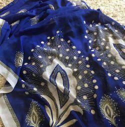 Плаття-Індійське сарі, оригінальне