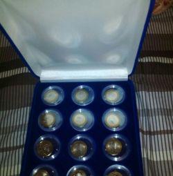 Monede 10 rub.bimetall