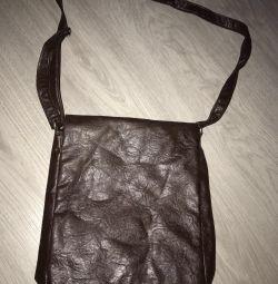 Τσάντα από γνήσιο δέρμα