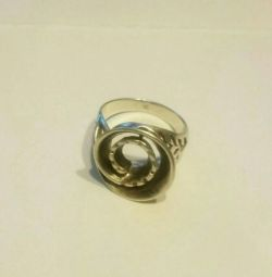 Ring of 925 sterling silver 8gr