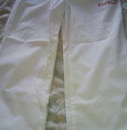 Белые брюки новые