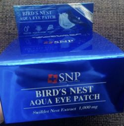 Патчи Iherb Bird's Nest Aqua Eye Patch SNP