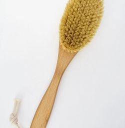 Eco-brush for dry massage