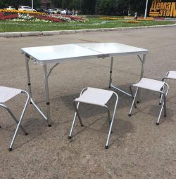 Camping tourist table