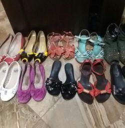Pantofi de balet, sandale 250-300 freca