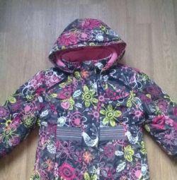 Winter jacket of the Canadian company mini ungava