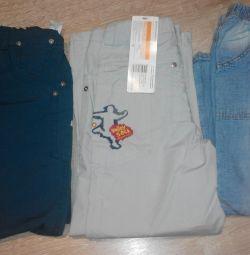 Pantolonlar, kot pantolon