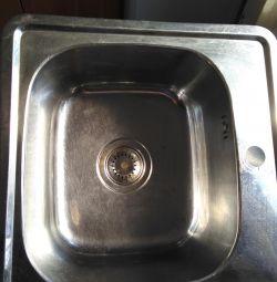 Sink in the kitchen