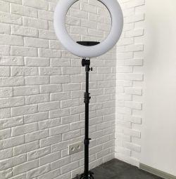 Annular Lamp 45cm + Tripod 200cm