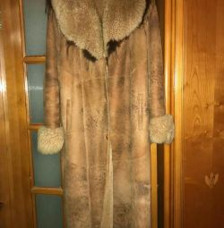 I will sell a sheepskin coat