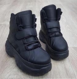 Μπότες μπότες μποτάκια πάνινα παπούτσια
