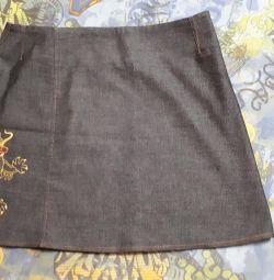 Міні спідниця джинс