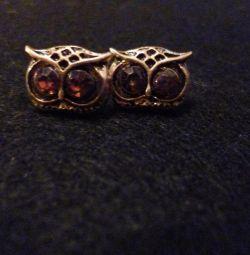 New owl earrings