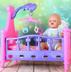 Bebekler için beşik