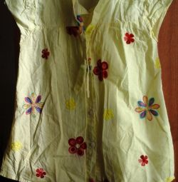 детская блузочка