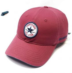 Бейсболка Converse All Star (бордовий)