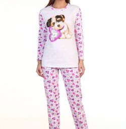Пижама с начeсом новая.