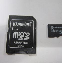 Κάρτα μνήμης 32 gb 10 κατηγορίας