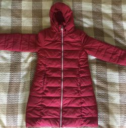 Used winter down jacket for children
