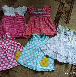 Dresses 74 cm
