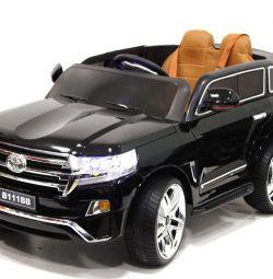 Children's electric car Toyota Land B111BB Black