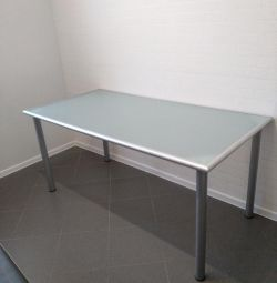 Glass table ikea