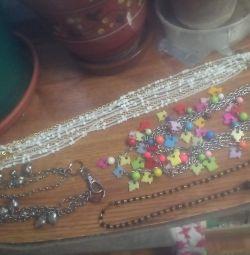 Beads-imitation jewelry