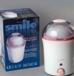 Smile yogurt maker MK 3001 (Dairy cuisine)