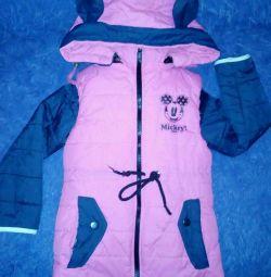 Jacket și vesta pentru o fată