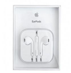 Original. Headphones Apple EarPods iPhone.