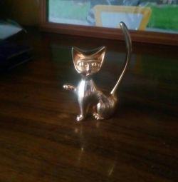 Κάτοχος για δαχτυλίδια Anigram kitty