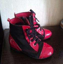 Boots, demi-season, size 24