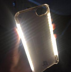 IPhone 6/7 arkadan aydınlatmalı kılıf