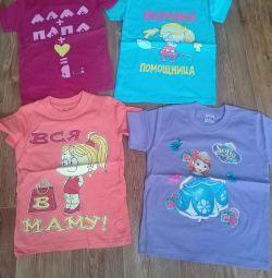 Tricou pentru copil fată 3 ani