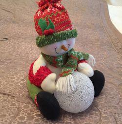 Снеговик ночник