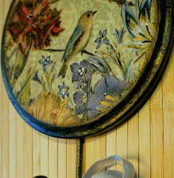 Hanger key holder decoupage needlework gifts