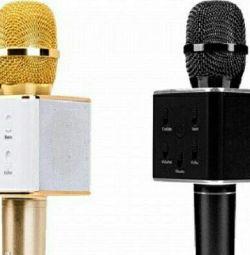 Беспроводной микрофон-караоке Q7s