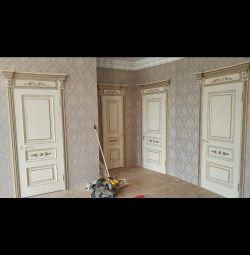 Installation of interior doors