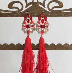 Luxury earrings / new