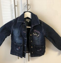 Джинсовий піджак для дівчинки Глорія Джинс
