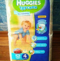 Diapers - panties 4 9-14 kg