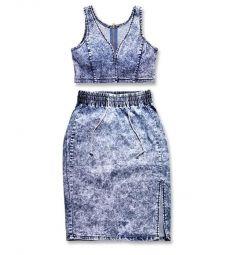 Комплект юбка и топ 44