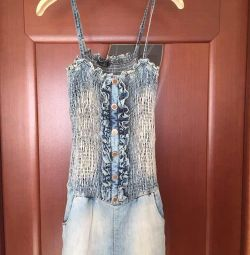 Overalls denim Celyn b M 46 44 27 blue on