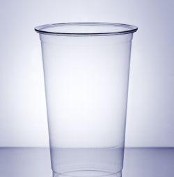 200 ml cana de plastic PET cu capac pentru cupolă